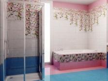 Цветочные мотивы в коллекциях плитки