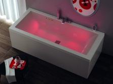 Итальянская ванна с подсветкой