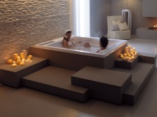 Ванна на двоих от Gruppo Treesse - релаксация
