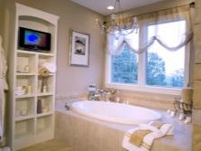 Ванная, как уютное место для отдыха