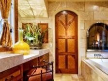 Ванная комната с уютной обстановкой