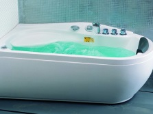 Ванна акриловая с гидромассажем Apollo
