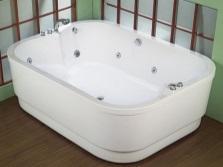 Нестандартная ванная для двоих