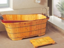 Деревянная ванна производства Китая