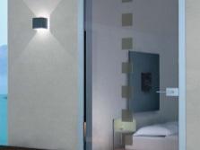 Маятниковые двери для ванной комнаты