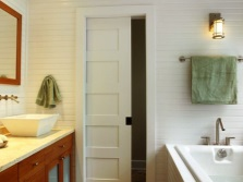 Двери-купе в ванную комнату
