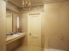 Простота и стиль в отделке ванной