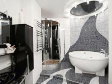 Цветовое решение для модной ванной