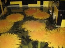 Одуванчики - наливные полы