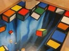 Кубики - наливные полы