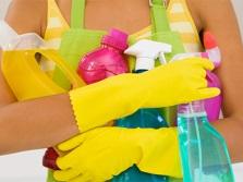 Регулярная уборка в ванной комнате