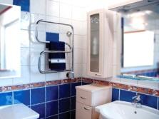 Полотенцесушитель в ванной комнате