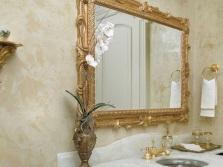 Красивая декоративная штукатурка в ванной