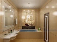 Керамическая плитка для облицовки стен ванной