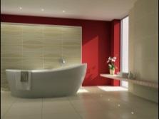 Стиль минимализм в ванной комнате