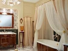Красивые занавески для ванны