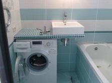 Маленькие ванные и стиральные машины
