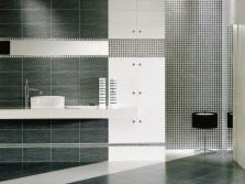 Плитка в ванной хай-тек