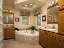 Освещение для каждой рабочей зоны ванной