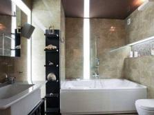 Освещение ванной по зонам