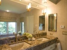 Освещение зеркал в ванной комнате