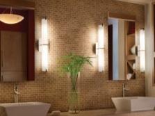 Боковое освещение зеркал для ванной