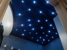 Точечные светильники для создания звездного  неба в ванной