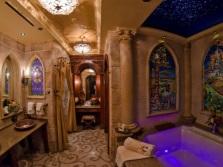 Небольшое звездное небо для ванн