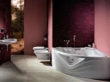 Угловая акриловая ванна от бреда Pool SPA