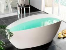 Ванна отдельностоящая из литьевого акрила