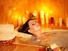 Ванна чтобы успокоиться и расслабиться