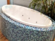 Овальная ванна российского производства