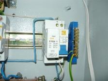 Система защитного отключения электричества