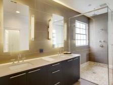 Освещение для туалетного столика в ванной