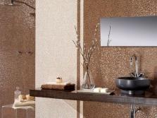 Столешница из натурального камня для столика в ванной
