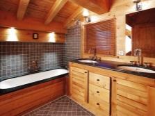 Туалетные столики в ванной из натуральных материалов