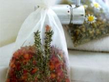 Мешочек с травами для травяной ванны