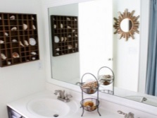 Поддержание морского стиля ванной