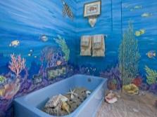 Тема моря в ванной комнате