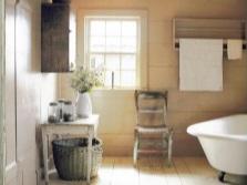 Дизайн ванной в стиле кантри