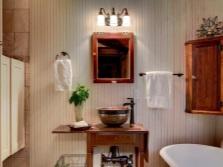 Кантри стиль в дизайне ванной