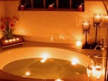 Овальная ванна для двоих