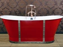 Ванна Novial красная