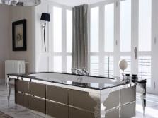 Стальные ванны производства Италии