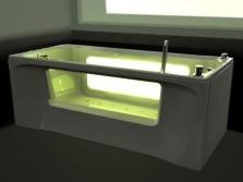 Ванна с подсветкой