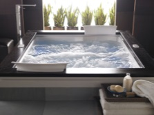 Jacuzzi ванна квадратная