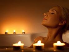 Ванна с эфирными маслами для всего тела для расслабления