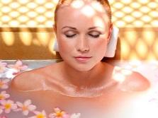 Ванна с эфирными маслами для всего тела