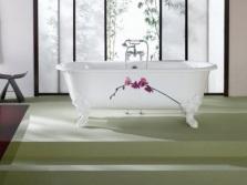 Ванна на ножках с росписью Jacob Delafon