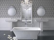 Дизайнерская чугунная ванна Jacob Delafon